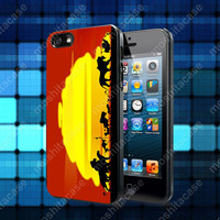 The Lion King Sunset Hakuna Matata Case For iPhone 5, 5S, 5C, 4, 4S and Samsung Galaxy S3, S4