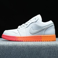 NIKE Air Force 1 Low New fashion hook couple shoes White-1