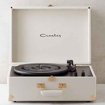 Crosley X UO AV Room White Portable USB Vinyl Record Player