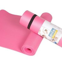 Moisture Proof, Slip-resistant, Extra Thick (8mm) Yoga Mat