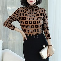 Fendi Women Long Sleeve Top