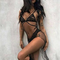 Fishnet Dress FD18