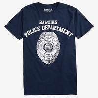 Stranger Things Hawkins Police Department T-Shirt