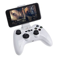 [Apple MFi Certified] Bluetooth Gamepad, Megadream PXN Speedy Wireless IOS Gaming Controller Joystick Joypad with Phone Clamp Holder for iPhone 7 6S Pluse 6 5S 5 4S, iPad Air 2 Mini 4 3 Pro, Apple TV