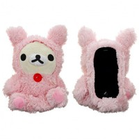 PINK BEAR DOLL IPHONE 4/4S CASE. - IPHONE 4/4S - TECH