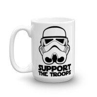 Support the Troops Storm Trooper Mug