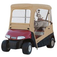 Classic Accessories Fairway E-Z-Go Golf Cart Enclosure (Beige/Khaki)