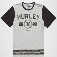 Hurley Above Mens T-Shirt Heather  In Sizes