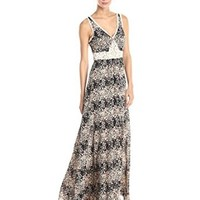 Ark & Co Women's Printed Maxi Dress