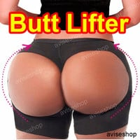 Butt Lift Seamless Booster Booty Lifter Boy-Short Body Shaper Enhancer