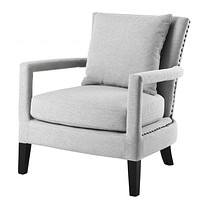 Gray Lounge Chair   Eichholtz Gregory