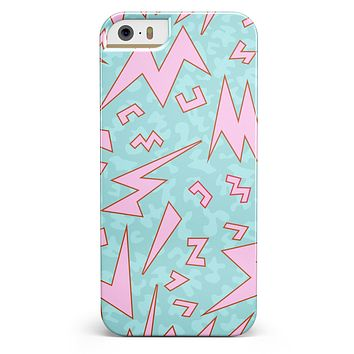 90's Zig Zag iPhone 5/5s or SE INK-Fuzed Case