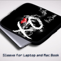 The Weeknd XO Till We Overdose Sleeve for Laptop, Macbook Pro, Macbook Air (Twin Sides)