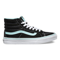 Vans Skate Hi Slim(Pop)Black/Blue Tint