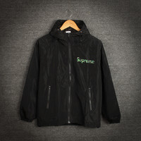 Men's Supreme Fashion Double-layered Windbreaker Winter Jacket [9398109959]