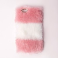 Missguided - Fur iPhone 6 Case Pink