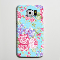 Classic Floral iPhone 6 Galaxy s6 Edge Case Galaxy s6 Case Samsung Galaxy Note 5 Case s6-142
