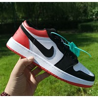 Nike Sb Dunk Low Pro Hot sale classic color matching casual shoes for men and women sports shoes sneakers Red