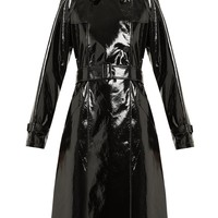 Double-breasted vinyl trench coat | Diane Von Furstenberg | MATCHESFASHION.COM US