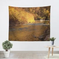 Rustic Fall Tapestry