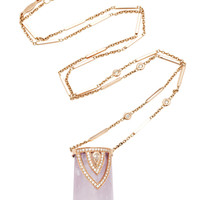 One-Of-A-Kind Aladdin Cap Amethyst Crystal Necklace | Moda Operandi