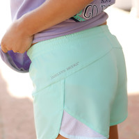 Jadelynn Brooke Shorts- Mint
