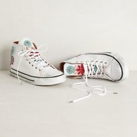 Margherita Beaded High Tops by Black Dioniso White