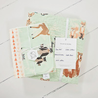 Hello Bear Heirloom Quilt Collection in Mint