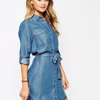 River Island Denim Shirt Dress