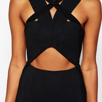 Shakuhachi Dress with Cut Outs