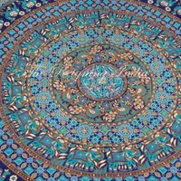 100% Cotton Bed Sheet Psychedelic Bedding Wall Tapestry Twin Home Decor 2213