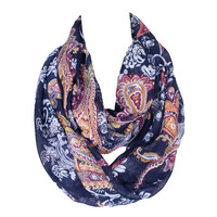 Fashion Loop Shawl Vintage Cashew Print Ring Scarves Women Winter Infinity Scarf Echarpe Foulard Femme 180*80cm