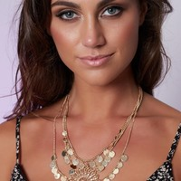 Louisa Necklace Gold