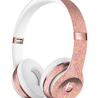 Golden Pattern Of Royalty Full-Body Skin Kit for the Beats by Dre Solo 3 Wireless Headphones