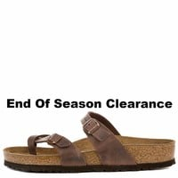Birkenstock for Women&Men: Mayari Habana Oiled Leather Sandal