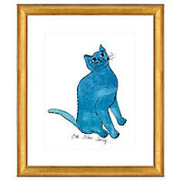 """One Kings Lane - Pop Art - Warhol, Cat From """"25 Cats Named Sam…"""" I"""
