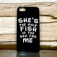 Disney Hers Black Quotes iPhone Case Cover 4,5,6,6+ Samsung S3,S4,S5,S6 iPod 4 5