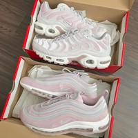 nike air max 97 ultra pink women running sneakers sport shoes