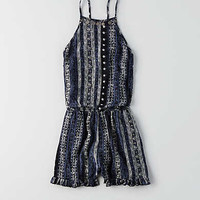 AEO SMOCKED BACK ROMPER