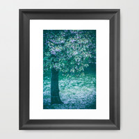 Song of the Tree Framed Art Print by Katerina Lesslerova