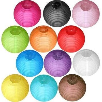 "Multicolor Chinese paper Lanterns Wedding Party Decoration 6"" 8"" 10"" 12"" 14"" 16"" [7981851463]"