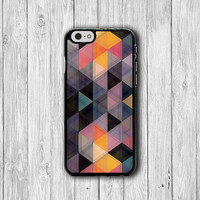 Triangle Geometric iPhone Cases, iPhone 6 Cover, iPhone 6 Plus, iPhone 5 Hard Case, Soft Silicon, Plastic Accessory Boss Gift Personalized