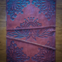 Lotus Leather Book of Shadows