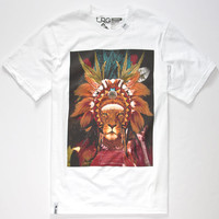 Lrg Lion Chief Mens T-Shirt White  In Sizes