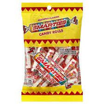 Smarties Candy Rolls, 5.5-oz. Bags