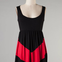 V is for Victory -- Black/Red