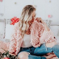 Xoxo Sweater in Softest Pink