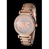 MK Tide brand men and women models with diamonds simple and versatile quartz watch 5