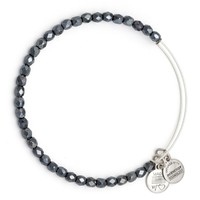 Slate Glisten Beaded Bangle | Alex and Ani