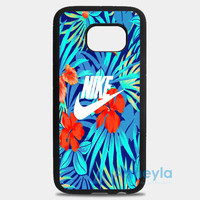 Tropical Nike Pattern Samsung Galaxy S8 Plus Case | armeyla.com